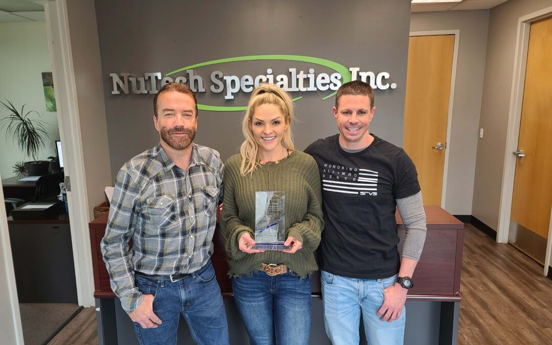 Recognizing Talent Within NuTech Specialties